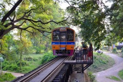 Exploring Kanchanaburi by train