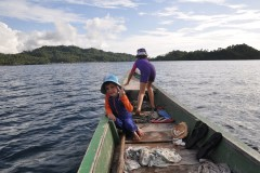 The Togean islands with kids