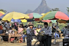 Hpa-an morning market