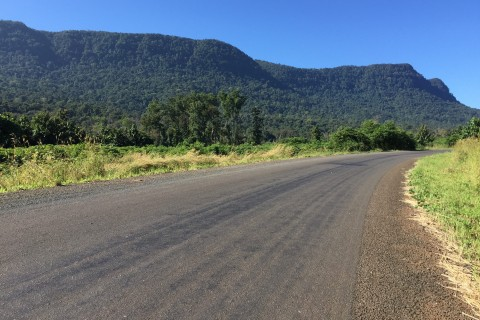 Motorbiking the Bolaven Plateau