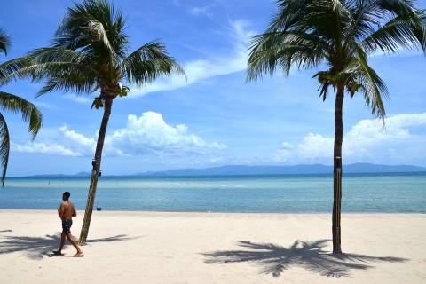 What's a good beach on Ko Pha Ngan?