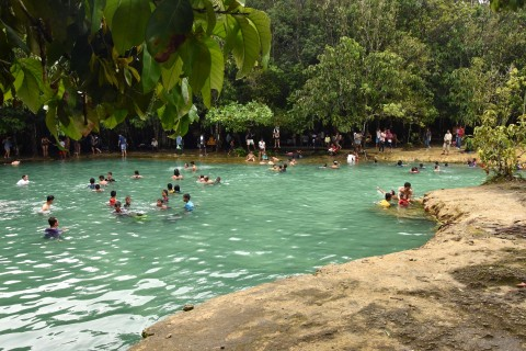 Emerald Pool and Khlong Thom hot springs