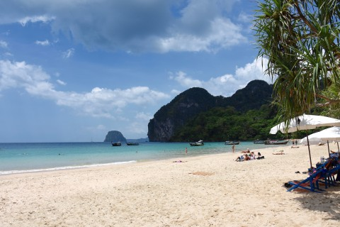 Farang Beach is none too shabby. Photo taken in or around Beaches on Ko Muk, Ko Muk, Thailand by David Luekens.