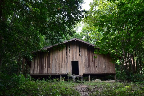 Some 120 prisoners may have slept here. Photo taken in or around Ao Talo Wao historical trail, Ko Tarutao, Thailand by David Luekens.