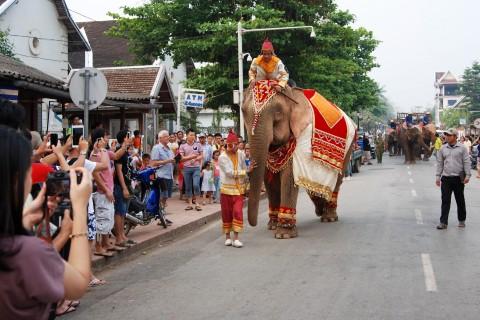 Pi Mai Lao in Luang Prabang: In 1999