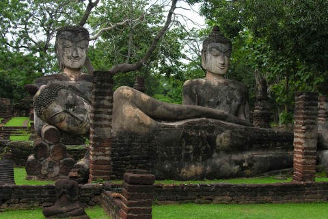 Kamphaeng Phet Historical Park: Central zone