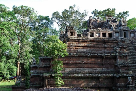A low key yet sprawling site well worth your time. Photo taken in or around Phimeanakas and the Royal Palace, Angkor, Cambodia by Mark Ord.
