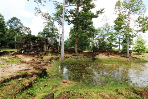 Few have heard of Banteay Prei. Photo taken in or around The Grand Circuit, Angkor, Cambodia by Caroline Major.