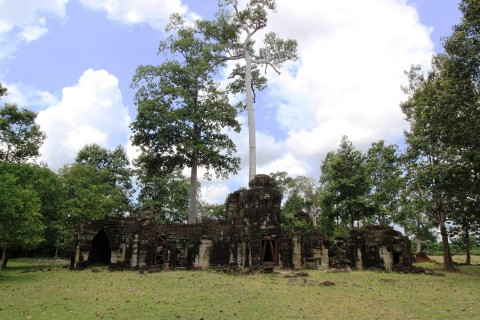 Not a soul in sight. Photo taken in or around Banteay Prei, Angkor, Cambodia by Caroline Major.