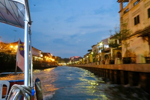 Be sure to get out in the evening. Photo taken in or around Three days in Melaka, Melaka, Malaysia by Sally Arnold.