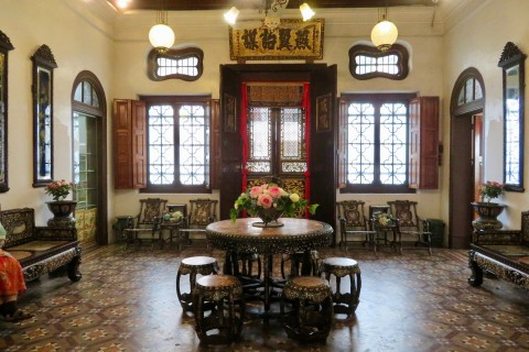 Undeniably beautiful. Photo taken in or around Pinang Peranakan Mansion, Penang, Malaysia by Sally Arnold.