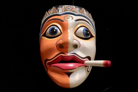 Striking. Photo taken in or around Setia Darma House of Masks and Puppets, Ubud, Indonesia by Sally Arnold.