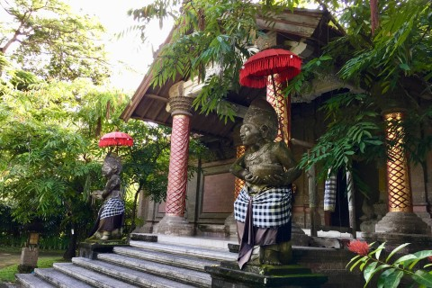 Welcome to ARMA. Photo taken in or around Agung Rai Museum of Art (ARMA), Ubud, Indonesia by Sally Arnold.