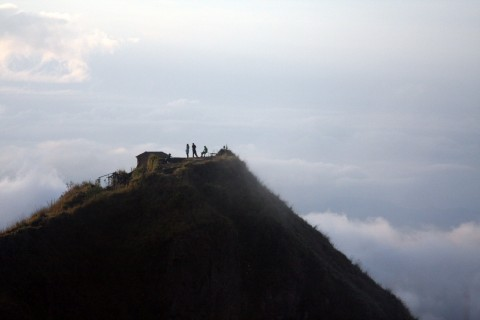 Pace yourself. Photo taken in or around Climbing Gunung Batur, Gunung Batur, Indonesia by Adam Poskitt.