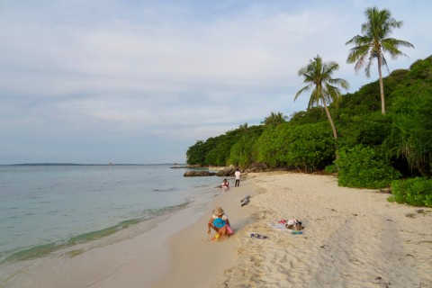 Karimunjawa's beaches