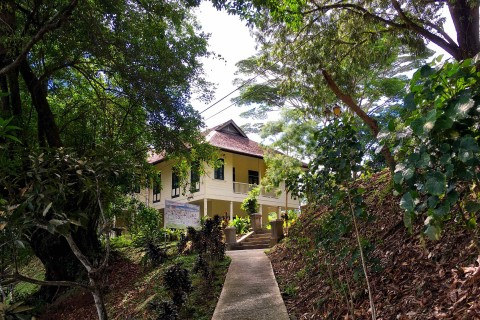 The house on the hill. Photo taken in or around Agnes Keith House, Sandakan, Malaysia by Sally Arnold.