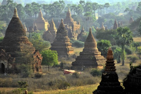 Enough for everyone to find their own favourite. Photo taken in or around A three- or four-day itinerary, Bagan, Burma_myanmar by Mark Ord.