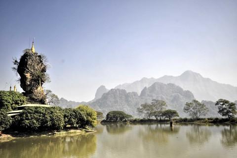 Kyauk Kalat Pagoda
