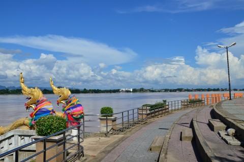 The Nakhon Phanom riverfront