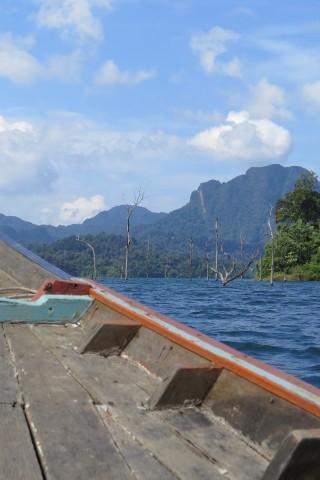 More Chiew Lan Lake rafthouses
